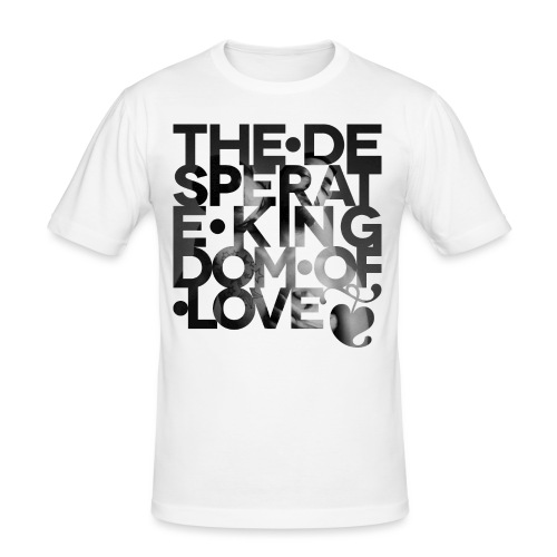 Desperate Kingdom of Love - Men's Slim Fit T-Shirt