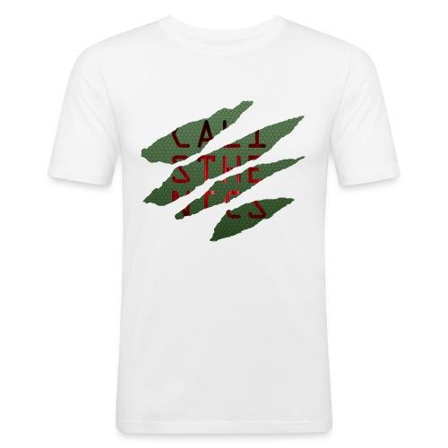Cali Risse png - Männer Slim Fit T-Shirt