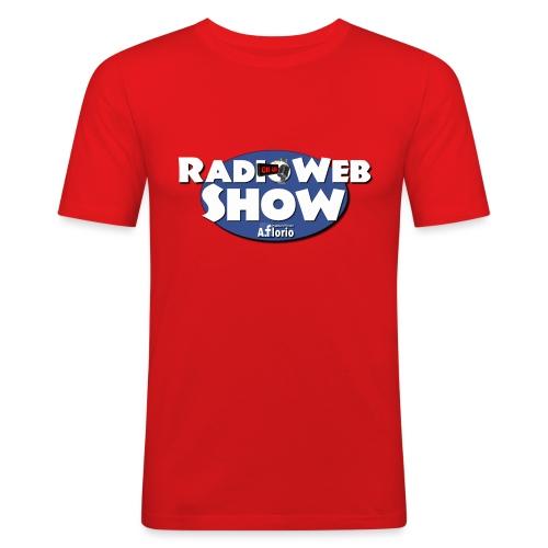 Logo RadioWebShow - Maglietta aderente da uomo
