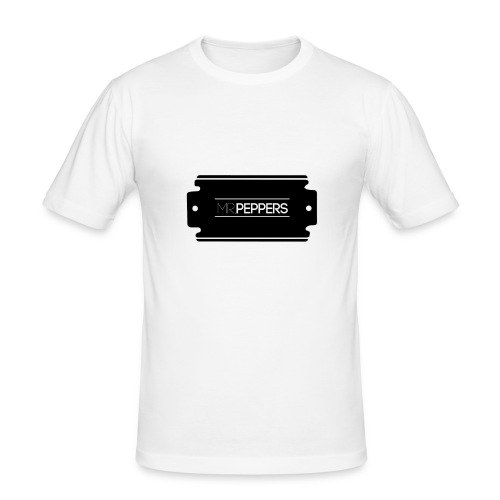 MR PEPPERS Logo classic - Männer Slim Fit T-Shirt