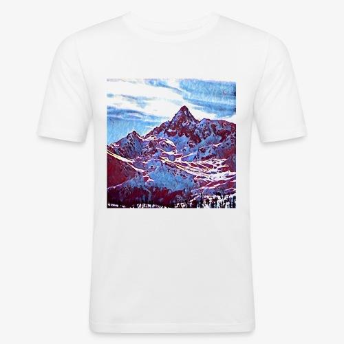 Red Mountain - Maglietta aderente da uomo