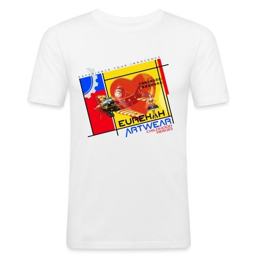 Childhood Heroes - Men's Slim Fit T-Shirt