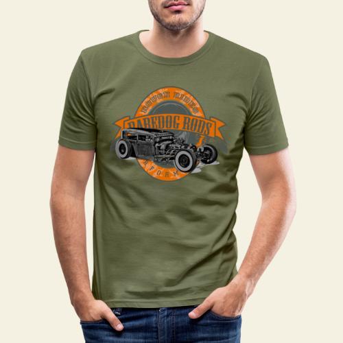 Raredog Rods Logo - Herre Slim Fit T-Shirt