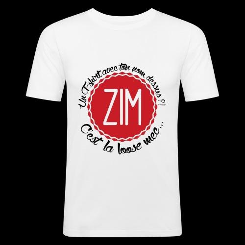 logo tshirt final hd 2 png - T-shirt près du corps Homme