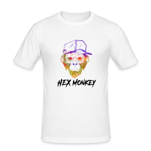 Hex Monkey - Mannen slim fit T-shirt