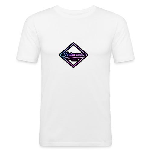 jordan sennior logo - Men's Slim Fit T-Shirt