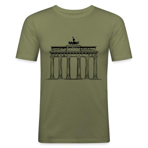 Brandenburger Tor Berlin Victoria Streitwagen - Männer Slim Fit T-Shirt