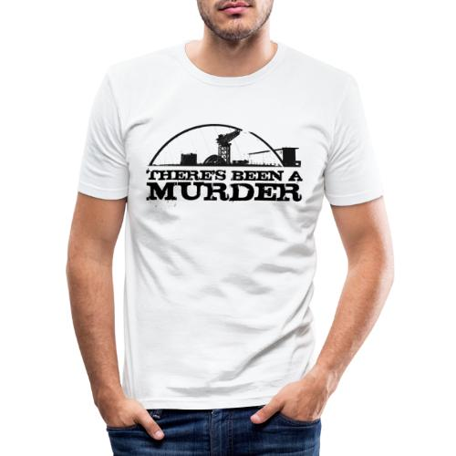 There s Been A Murder - Men's Slim Fit T-Shirt