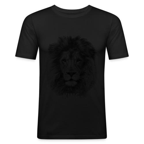 Lionking - Men's Slim Fit T-Shirt