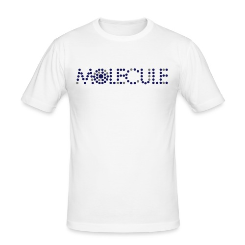 Molecule Recordings Logo - Men's Slim Fit T-Shirt