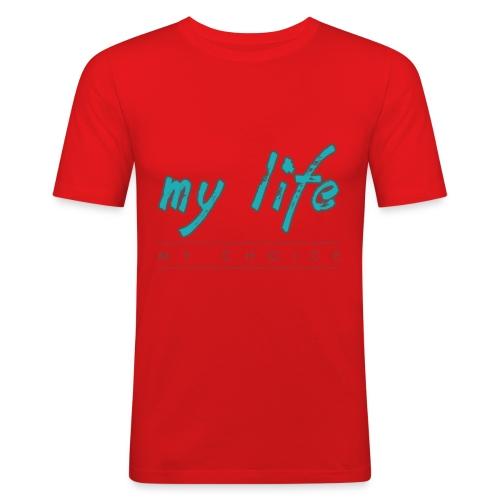 my-life-my-choice - Herre Slim Fit T-Shirt