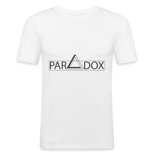 Paradox1 jpg - Mannen slim fit T-shirt