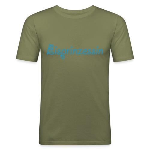 Eisprinzessin, Ski Shirt, T-Shirt für Apres Ski - Männer Slim Fit T-Shirt