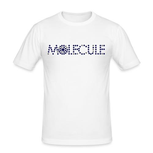 Molecule Recordings Logo - Men's Slim Fit T-Shirt