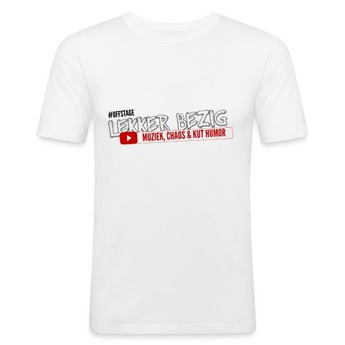 offstage - Mannen slim fit T-shirt