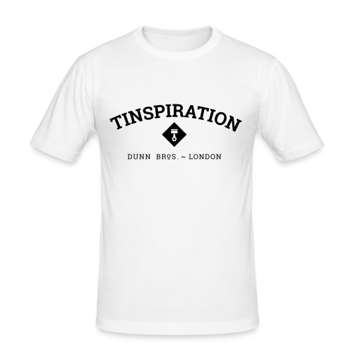 Tinspiration Logo - Men's Slim Fit T-Shirt
