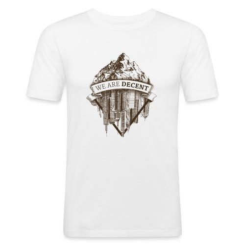 Illustration14 - Männer Slim Fit T-Shirt