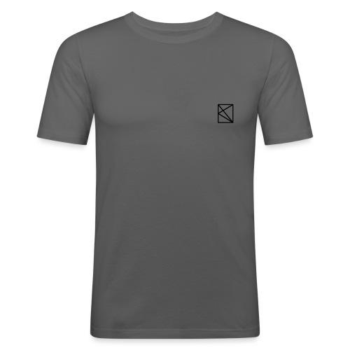 logo vecteur - T-shirt près du corps Homme