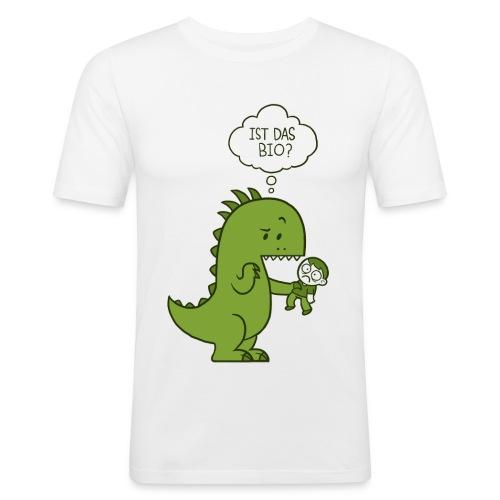 Bio-Dinosaurier - Männer Slim Fit T-Shirt