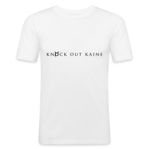 knockoutkaineblack - Men's Slim Fit T-Shirt