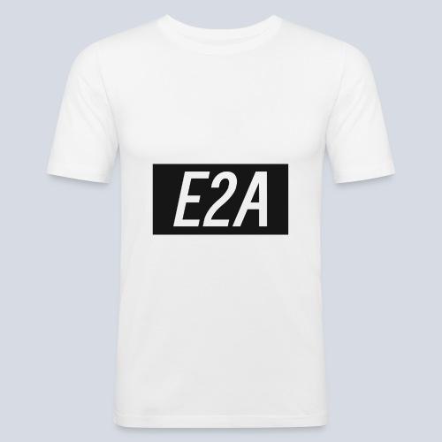 E2A SHIRT LOGO - Men's Slim Fit T-Shirt