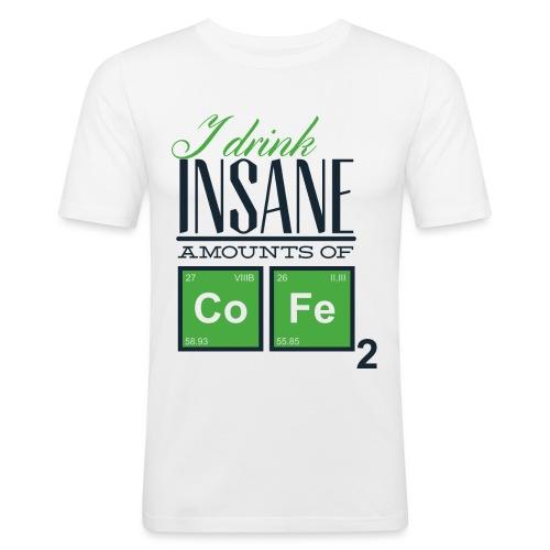 Breaking Coffee Shirt - Männer Slim Fit T-Shirt