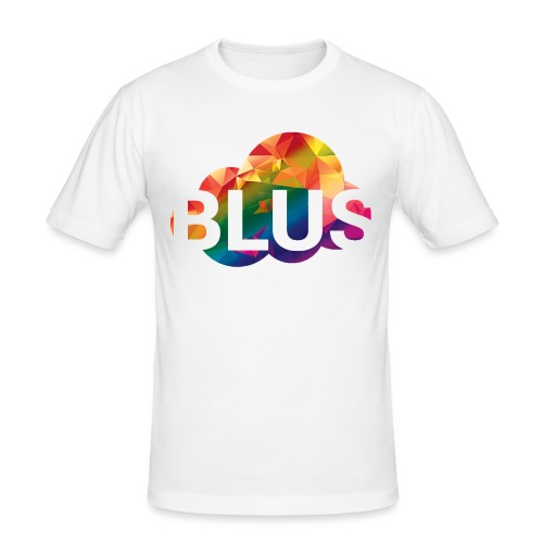 BURNER Logo - Men's Slim Fit T-Shirt