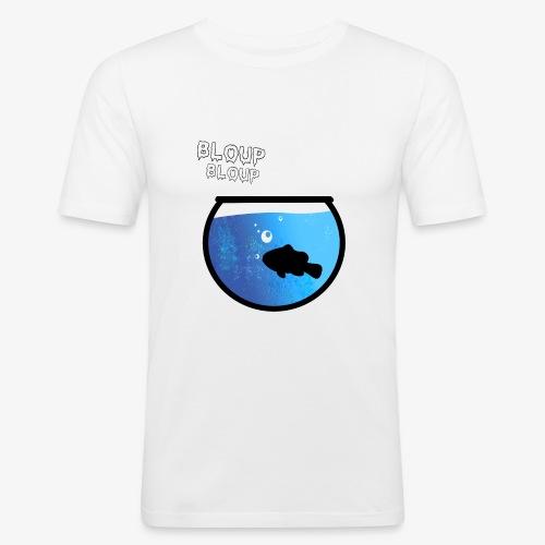 Bloup (Comme un poisson dans l'eau) - T-shirt près du corps Homme