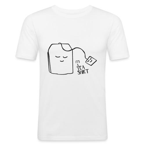 It's a Tea shirt - Mannen slim fit T-shirt