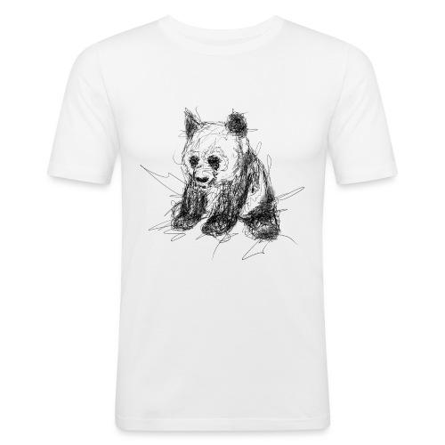 Scribblepanda - Men's Slim Fit T-Shirt