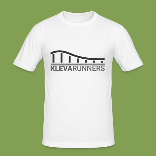 Kleva Runners Logo - Slim Fit T-shirt herr