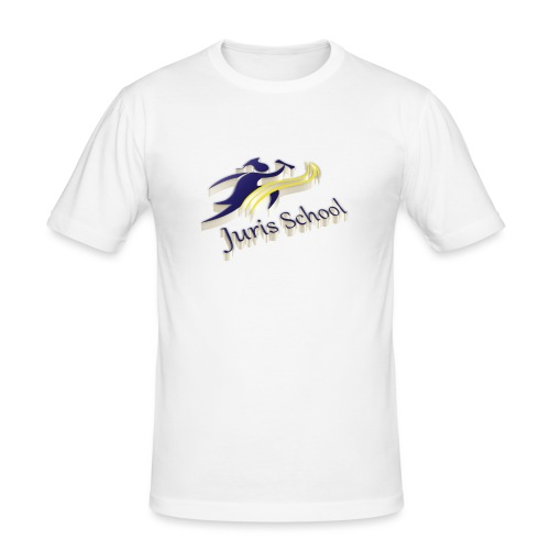 Juris School 3d - Maglietta aderente da uomo