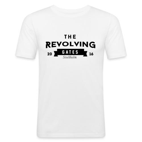 black white print 2016 - Men's Slim Fit T-Shirt