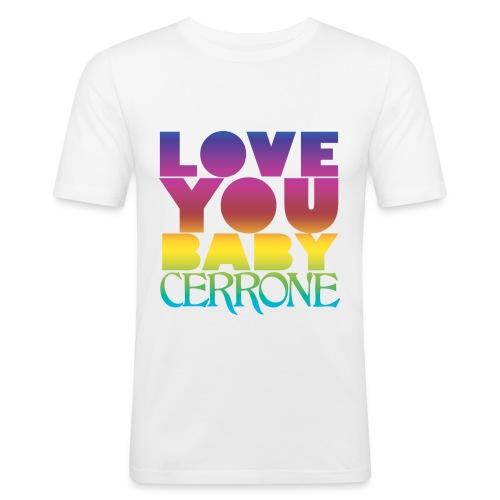 loveyoubabyarcenciel - T-shirt près du corps Homme