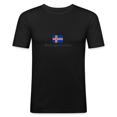 Iceland - Men's Slim Fit T-Shirt