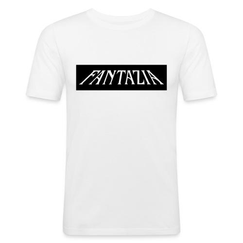 fantaziaold logo - Men's Slim Fit T-Shirt