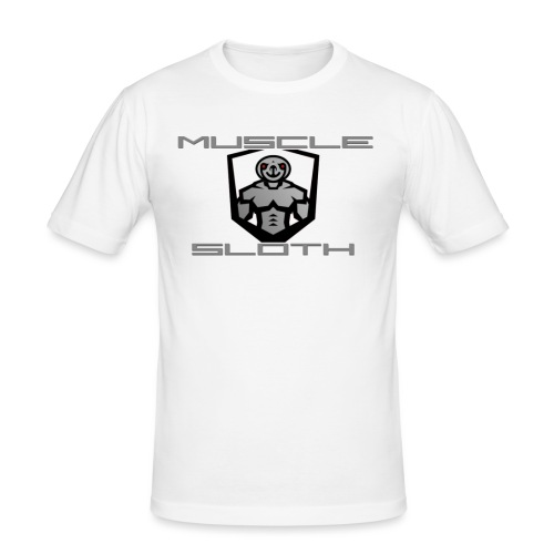 Muscle Sloth - Men's Slim Fit T-Shirt