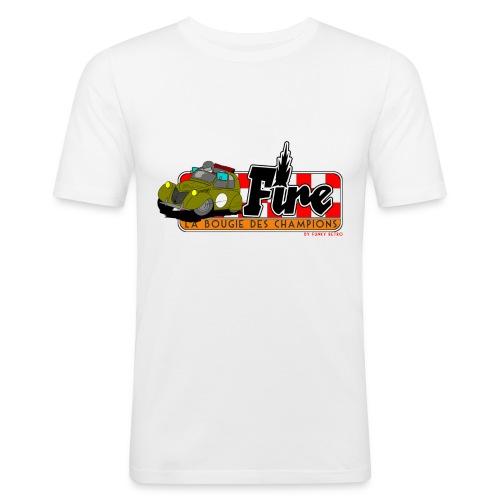 2cv FIRE - T-shirt près du corps Homme