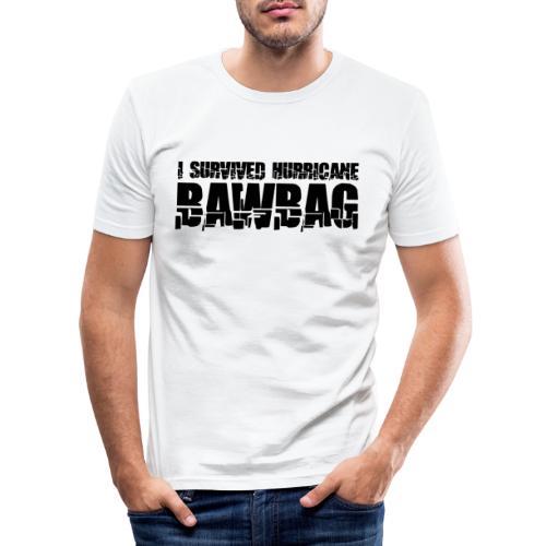I Survived Hurricane Bawbag - Men's Slim Fit T-Shirt