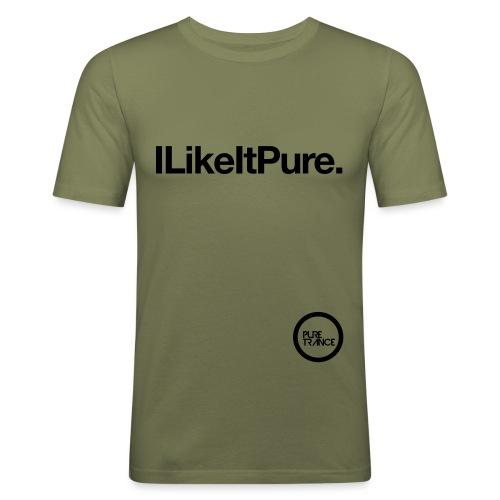 I Like It Pure - Men's Slim Fit T-Shirt