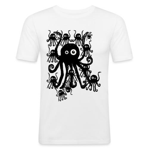 Sweet Octopi by BlackenedMoonArts - Herre Slim Fit T-Shirt