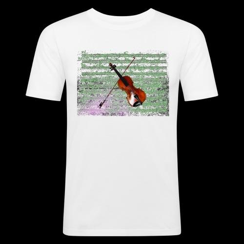 Violin - Men's Slim Fit T-Shirt