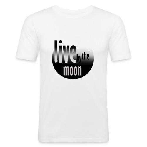 the moon - T-shirt près du corps Homme