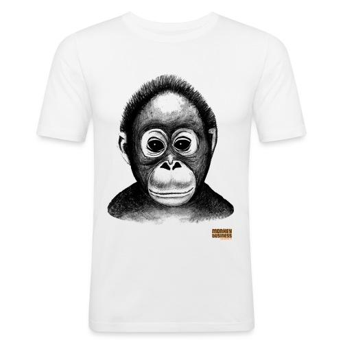 Egbert Jan Weeber - Mannen slim fit T-shirt
