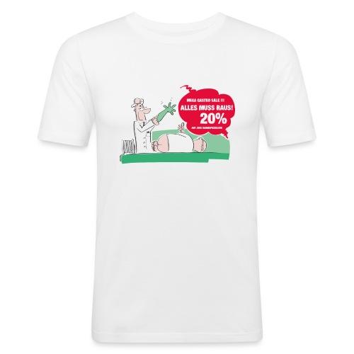Darmspiegelung - Männer Slim Fit T-Shirt
