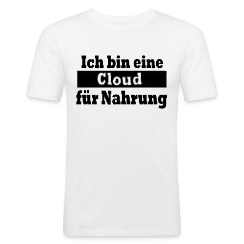 cloud - Männer Slim Fit T-Shirt