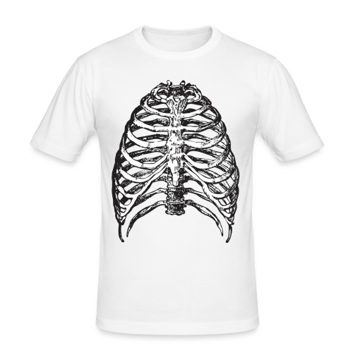 Scary Ribs - Männer Slim Fit T-Shirt
