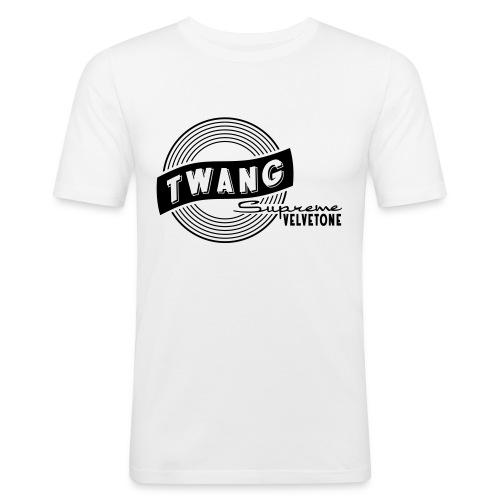 Velvetone Twang Supreme #3 - Männer Slim Fit T-Shirt
