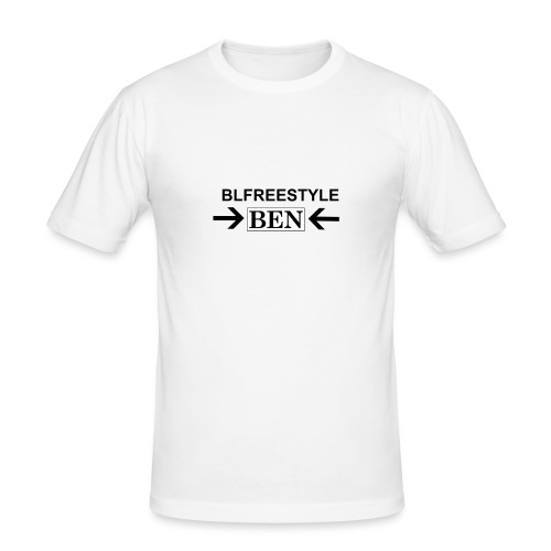 CREATED BY THE YOU TUBER CALLED BLFREESTYLE 11 - Men's Slim Fit T-Shirt