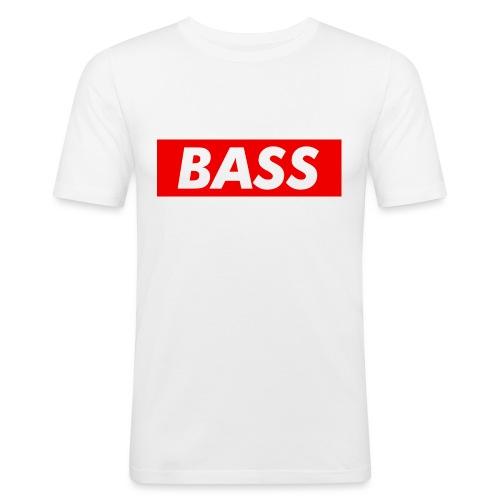 Red Bass Logo Tee - Men's Slim Fit T-Shirt